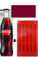 Coca-Cola Zero Vetro 33cl: Confezione con 24 Bottiglie + Formina per Ghiaccio