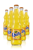 Fanta Vetro 33cl: Confezione con 24 Bottiglie