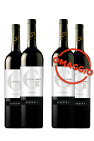 6 Bottiglie Falanghina Guiscardo 2018 Coppi + 6 OMAGGIO
