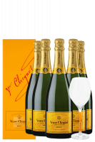 6 Bottiglie Brut Yellow Label Veuve Clicquot 75cl