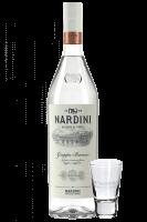 Grappa Bianca Nardini 1Litro + OMAGGIO 2 Bicchierini Nardini