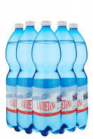Acqua Lauretana Frizzante 1Litro Cassa Da 6 Bottiglie In Plastica
