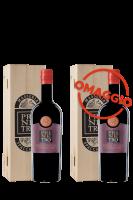 Pri Ne Tro Rosso Puglia 2017 Masseria Spaccafico (Magnum Cassetta in Legno) + 1 OMAGGIO