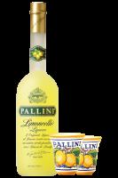 Limoncello Pallini 1Litro + 2 bicchierini in ceramica Pallini OMAGGIO