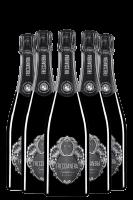 6 Bottiglie Franciacorta DOCG Freccianera Satèn 2016 Fratelli Berlucchi