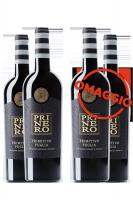 6 Bottiglie Primitivo Pri Ne Ro 2018 Masseria Spaccafico + 6 OMAGGIO