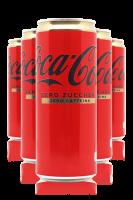 Coca-Cola Senza Caffeina Cassa da 24 Lattine x 33cl