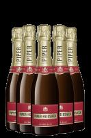 6 Bottiglie Mini Cuvèe Brut Piper-Heidsieck 20cl