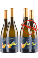 6 Bottiglie Trentino DOC Chardonnay 2017 Selezione Adel + 6 OMAGGIO