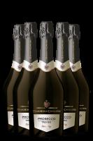 6 Bottiglie Prosecco DOC Treviso Extra Dry Maschio Dei Cavalieri