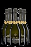 6 Bottiglie Prosecco Valdobbiadene DOCG Superiore Extra Dry Millesimato 2020 Maschio Dei Cavalieri