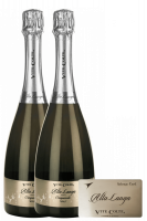 2 Bottiglie Alta Langa DOCG Brut Vite Colte + OMAGGIO 1 Sabrage Card Vite Colte