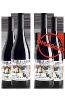 6 Bottiglie Roma DOC Rosso Iulia Prima 2018 Marziale ed Orazio + 6 OMAGGIO