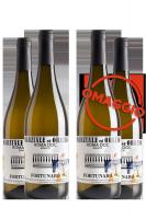 6 Bottiglie Roma DOC Bianco Fortunaro 2019 Marziale ed Orazio + 6 OMAGGIO