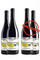 6 Bottiglie Petit Verdot Agromano 2015 Marziale ed Orazio + 6 OMAGGIO