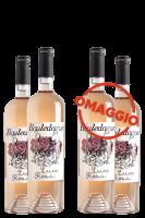 6 Bottiglie Rosato Luce Rosa 2019 Bouledogue + 6 OMAGGIO