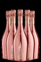6 Bottiglie Spumante Rose Gold Brut 2019 Bottega