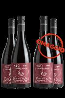 6 Bottiglie Negroamaro Carusella 2017 La Pugliosa + 6 OMAGGIO