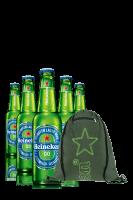 Heineken 0.0 Cassa da 24 bottiglie x 33cl + OMAGGIO 1 zainetto Heineken