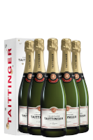 6 Bottiglie Brut Reserve Taittinger 75cl (Astucciato)