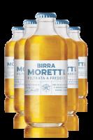 Birra Moretti Filtrata A Freddo Cassa da 24 bottiglie x 30cl