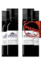6 Bottiglie Montepulciano D'Abruzzo DOP Altopiano 2018 Cantina Tollo + 6 OMAGGIO