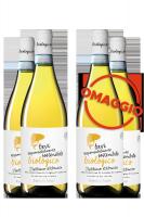 6 Bottiglie Trebbiano D'Abruzzo DOP Sostenibile Biologico 2018 Cantina Tollo + 6 OMAGGIO