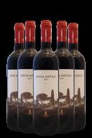 6 Bottiglie Appia Antica 400 Rosso 2017 Tenuta Principe Alberico