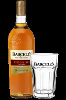 Ron Barceló Dorado 1Litro + 2 Bicchieri Barceló OMAGGIO