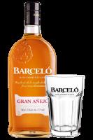 Ron Barceló Añejo 70cl + 2 Bicchieri Barceló OMAGGIO