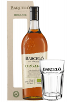 Ron Barceló Organic 70cl (Astucciato) + 2 Bicchieri Barceló OMAGGIO