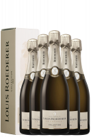 6 Bottiglie Brut Collection 242 Louis Roederer 75cl (Astucciato)