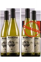 6 Bottiglie Trebbiano D'Abruzzo DOP Mascoli 2019 Rupicapra + 6 OMAGGIO