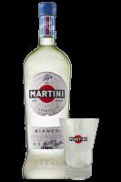 Vermouth Martini Bianco 1Litro + OMAGGIO 1 Tumbler Martini