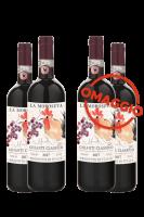 6 Bottiglie Chianti Classico DOCG La Moroseta 2017 Castello Di Querceto + 6 OMAGGIO