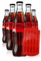 2 Casse Coca-Cola Zero Vetro da 24 bottiglie x 33cl + OMAGGIO 6 bicchieri Coca-Cola 30cl