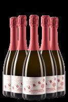 6 Bottiglie Valdobbiadene Prosecco Superiore DOCG Extra Dry Rive Di Colbertaldo 2020 Burro