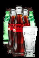Coca-Cola Zero Vetro Cassa da 24 bottiglie x 33cl + Sprite Vetro Cassa da 24 bottiglie x 33cl + OMAGGIO 6 bicchieri Coca-Cola 30cl