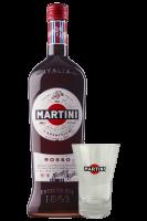 Vermouth Martini Rosso 1Litro + OMAGGIO 1 Tumbler Martini