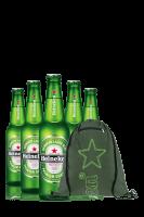 Heineken Cassa da 24 bottiglie x 33cl + OMAGGIO 1 zainetto Heineken