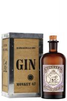 Gin Monkey 47 Schwarzwald 50cl (Cassetta in Legno)