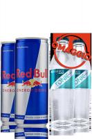 Cassa Red Bull 24 Lattine + OMAGGIO Cassa Red Bull Organics Tonic Water 24 Bottiglie