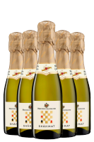 24 Bottiglie Vino Spumante Shãh Mat Bianco Extra Dry Maschio Dei Cavalieri 20cl