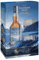 Talisker Skye Single Malt Scotch Whisky 70cl (confezione con 2 bicchieri)